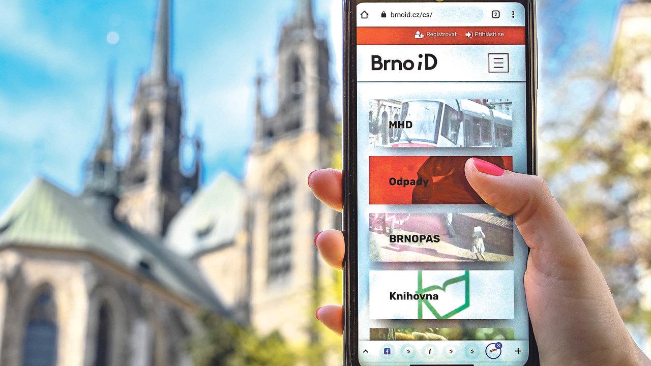 E-shop městských služeb Brno iD