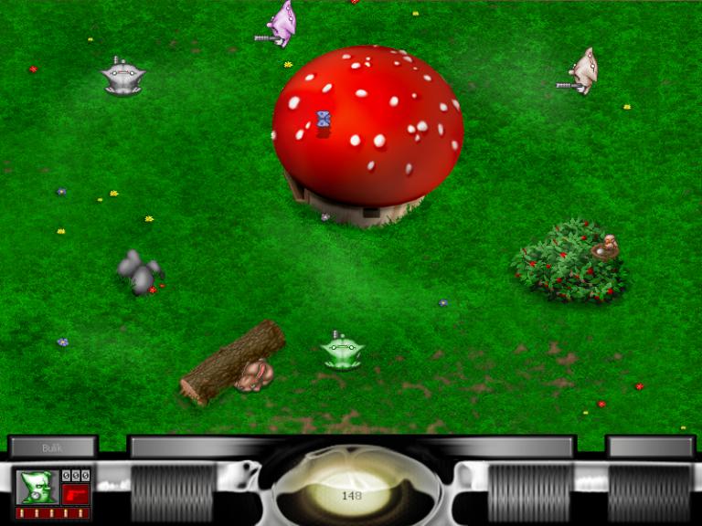 Hra Bulánci nevyžaduje instalaci, stačí spustit jeden soubor, a skupinová zábava může začít. Populární proto byla mezi školáky