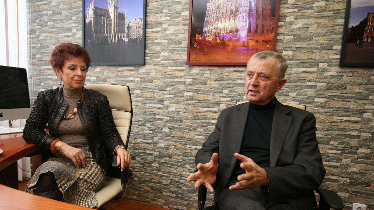 Marcela Flosmanová;Pavel Flosman