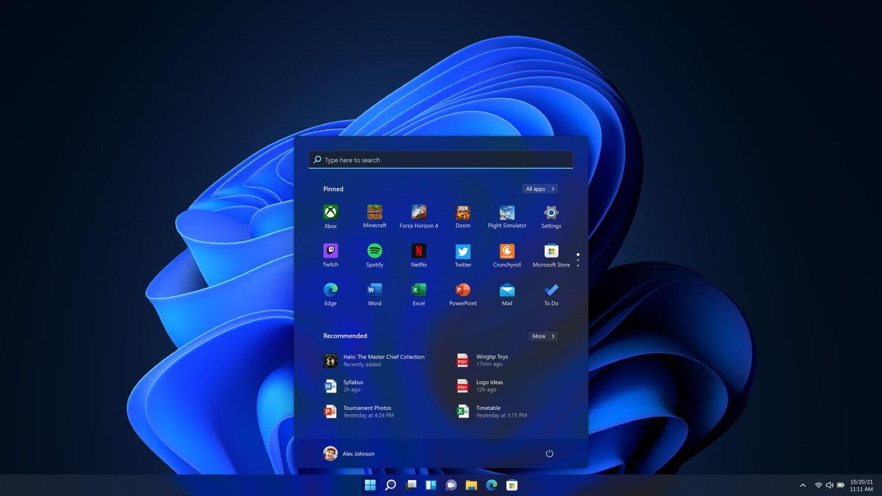 Windows 11 se soustředí na práci, hry a příjemné používání
