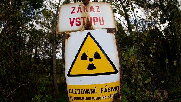 Těžba uranu, ilustrační foto