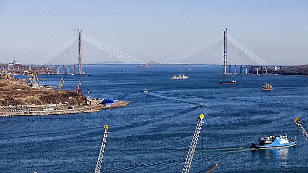 Společnost Sweco se podílela i na stavbě mostu ve Vladivostoku