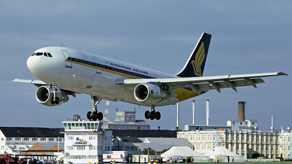 Singapore Airlines: Airbus A300B4 203, ilustrační foto