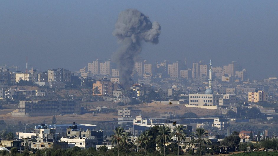 Izrael udeřil v pásmu Gazy