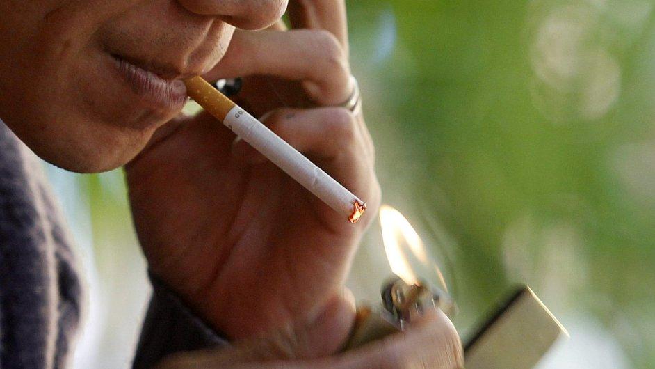 Tržby Philip Morris ČR v prvním kvartále klesly o 17,2 procenta - Ilustrační foto,