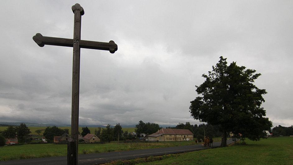Kříž v krajině, ilustrační foto