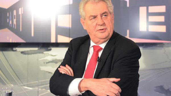 Miloš Zeman zajímavými výroky rozhodně nešetři.