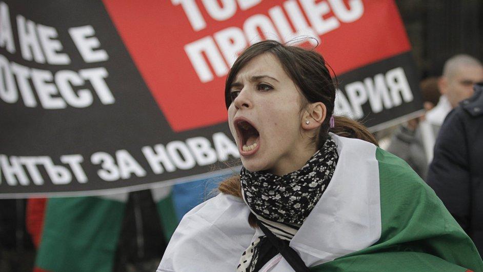 Bulharské protesty proti ČEZ