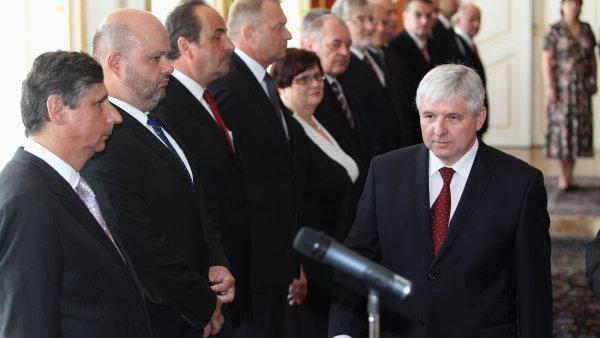 Vláda Miloše Zemana… ehm, tedy Jiřího Rusnoka