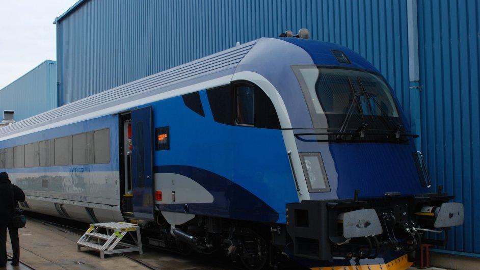 Vlaková souprava Railjet Českých drah