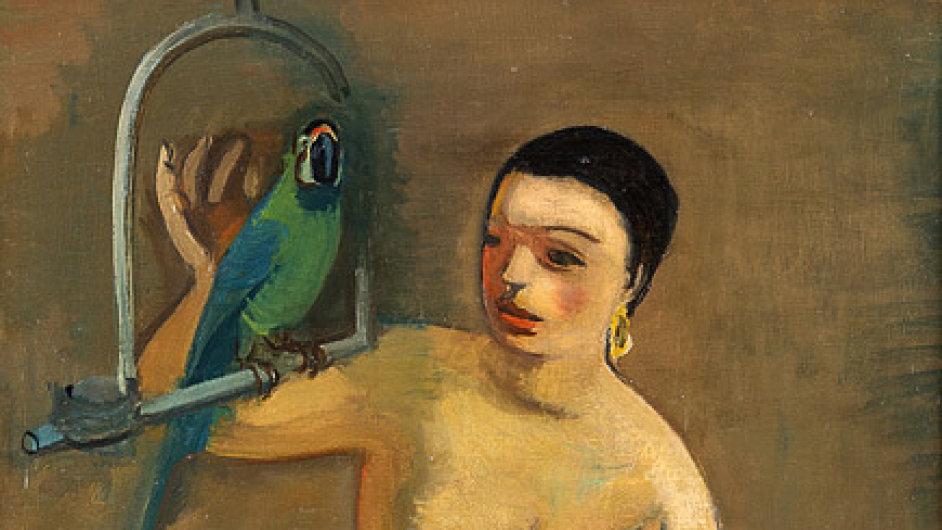 George Kars, Žena s papouškem