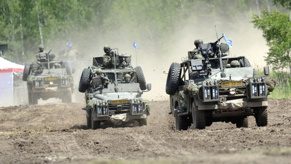 Bojová operace české armády. Ilustrační foto