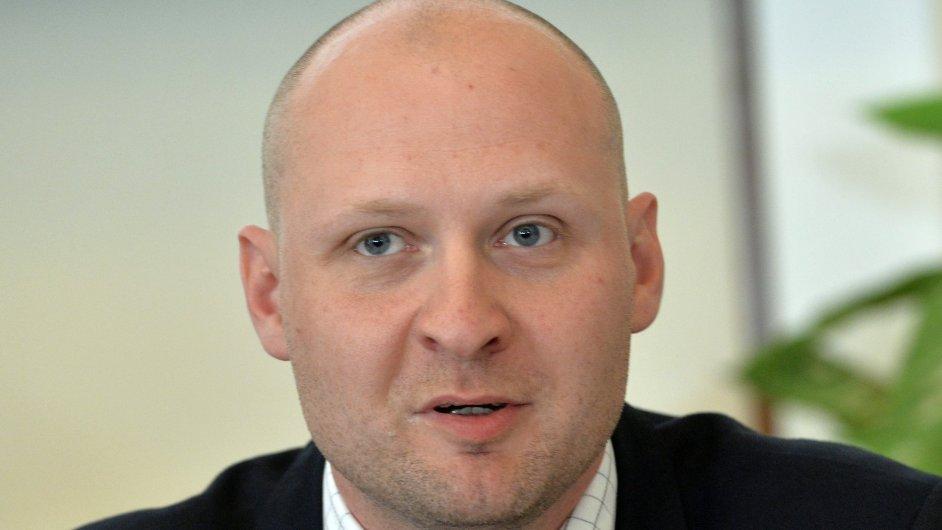 Náměstek ministra financí Lukáš Wagenknecht.