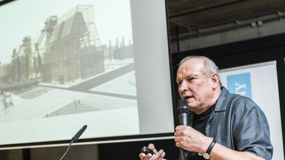 Architekt Josef Pleskot na konferenci Ostravsko, místo pro byznys.