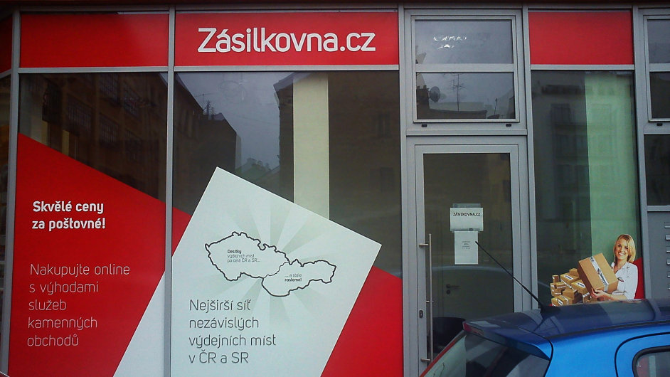 Zasilkovna Brno