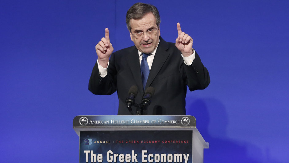 Řecký premiér Antonis Samaras odmítl další škrty.