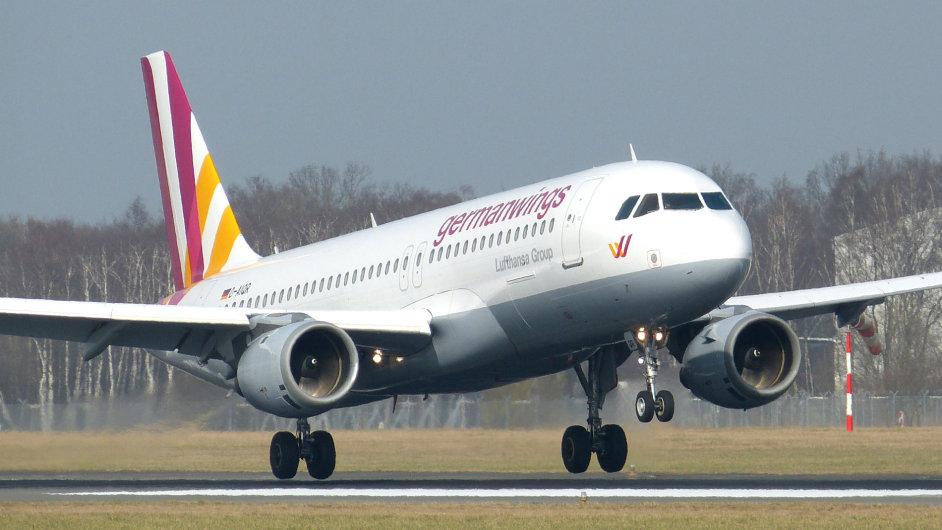 Airbus A320 společnosti Germanwings