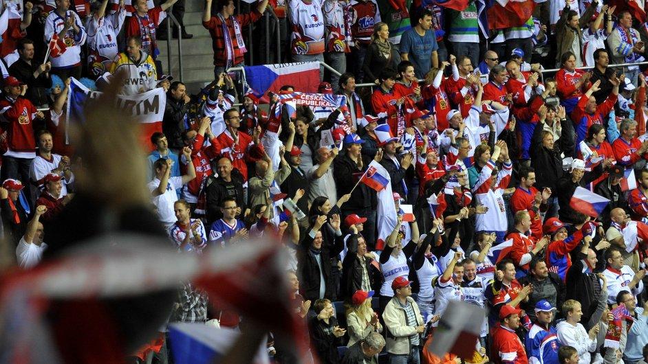 Organizátoři nabídnou školákům lístky na méně atraktivní souboje v rámci mistrovství světa v hokeji, ilustrační foto.