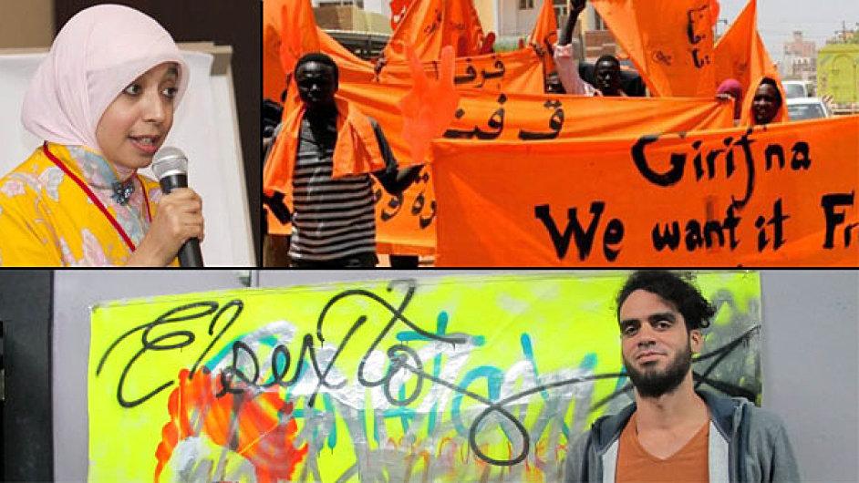 Laureáty letošního ročníku ceny Václava Havla se stanou indonéská komička Sakdiyah Ma'rufová, súdánské hnutí nenásilného odporu Girifna a kubánský streetartový umělec El Sexto.