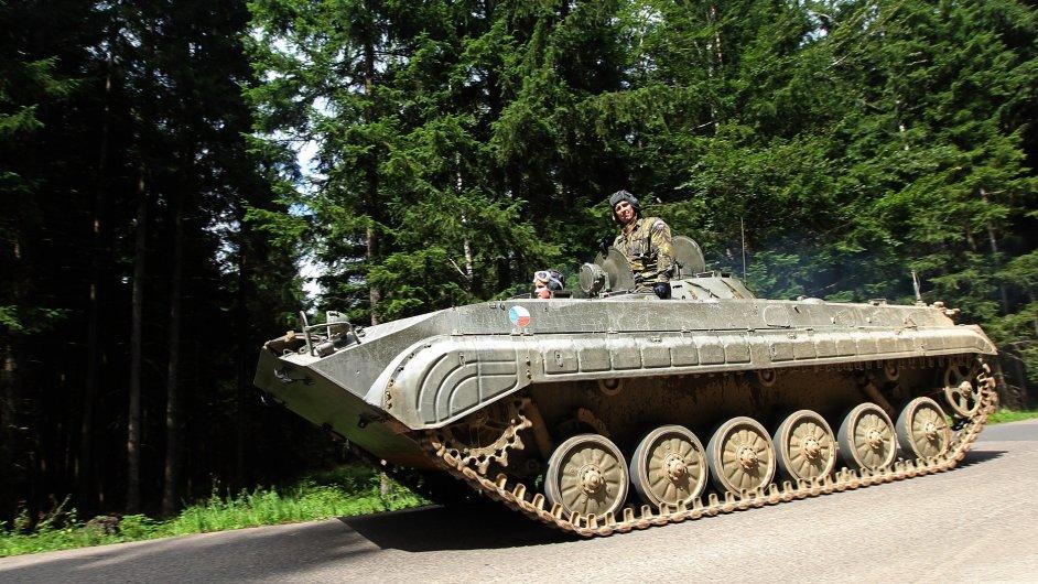 Vojenský újezd Brdy (ilustr. foto)