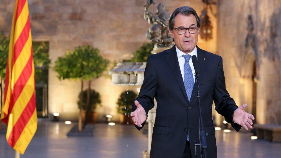 Katalánský premiér Artur Mas vyhlásil na září předčasné volby. Chce dosáhnout nezávislosti na Španělsku.