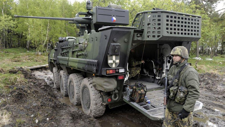 Kolové bojové vozidlo pěchoty Pandur