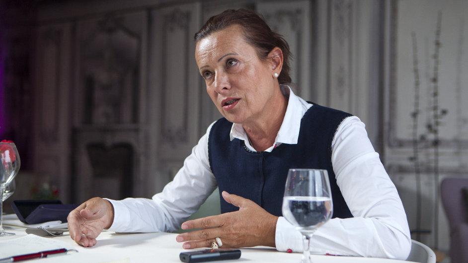 Ředitelka Energetického regulačního úřadu Alena Vitásková.