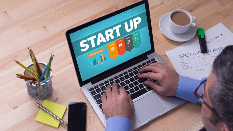 Start-up - Ilustrační foto.