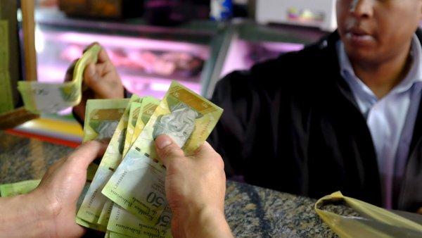 Inflace ve Venezuele se podle expert� pohybuje kolem 200 procent - Ilustra�n� foto.