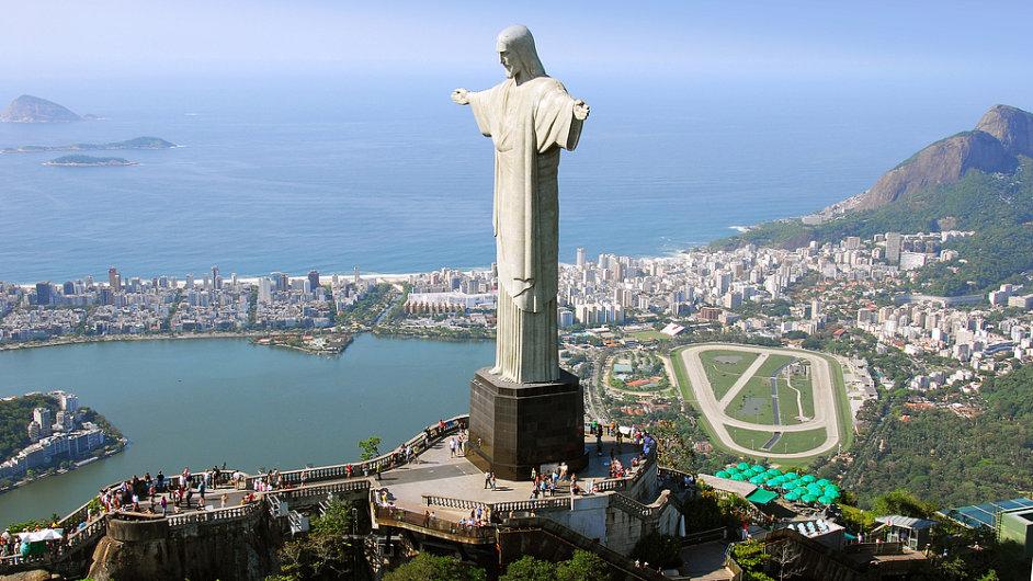 20. Socha Krista Spasitele, Rio de Janeiro, Brazílie.