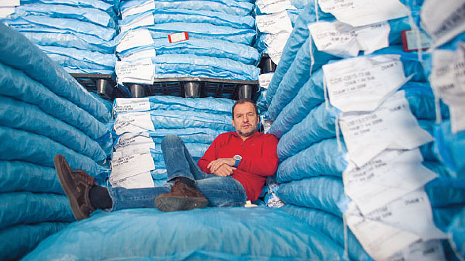 Jan Kašpar, majitel zlínské firmy Cork Janosa