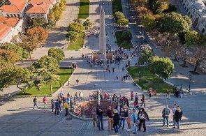 Tureck� fotograf po��dil unik�tn� sn�mky pomoc� dronu, vytvo�il tak pok�iven� pohled na Istanbul