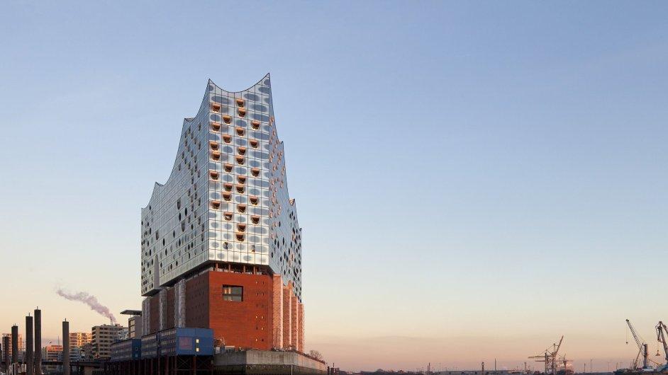 Labská filharmonie v Hamburku na snímku z letošního 1. dubna.