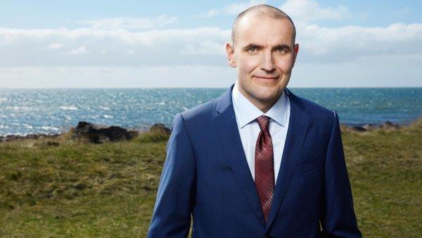 Kandidát na islandského prezidenta Gudni Jóhannesson.