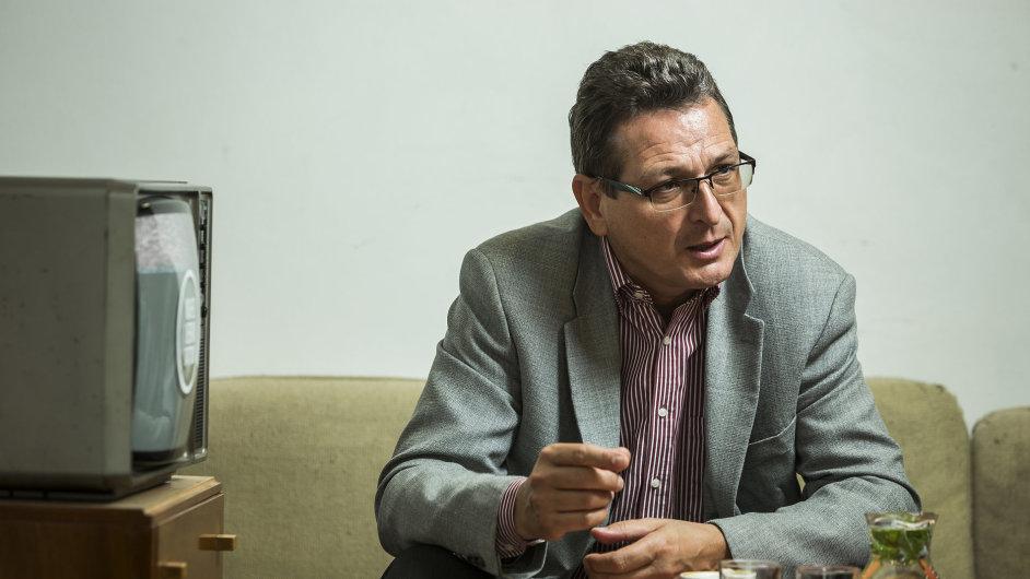 Jaromír Glisník, člen představenstva M7 Group, která provozuje satelity Skylink