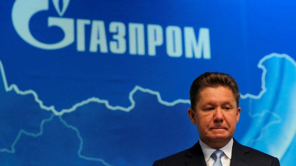 Šéf Gazpromu Alexei Miller.