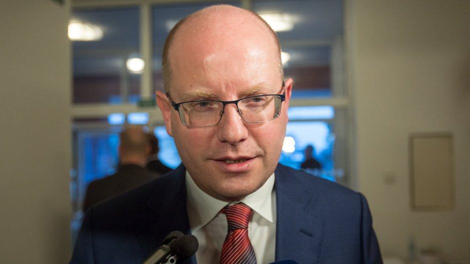 Bohuslav Sobotka z ČSSD.