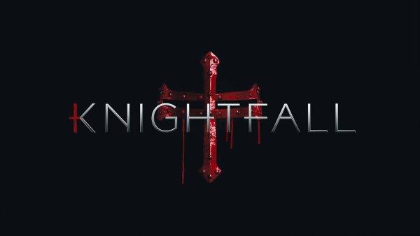 Natáčení první řady seriálu Knightfall skončilo v prosinci, v únoru History Channel vydala teaser trailer.