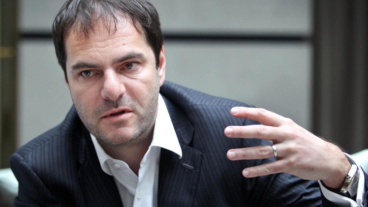 Generální ředitel Home Creditu ajejí menšinový akcionář Jiří Šmejc.