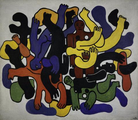 Fernand Léger, Les grands plongeurs noirs, 1944