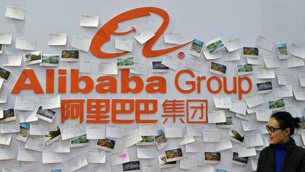 Čínská internetová společnost Alibaba Group Holding.