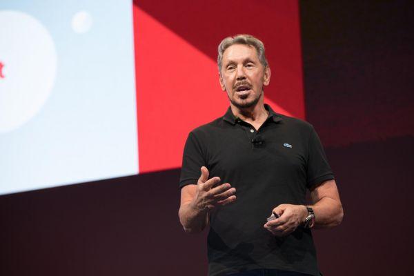 Larry Ellison, předseda představenstva a technologický ředitel (CTO) společnosti Oracle