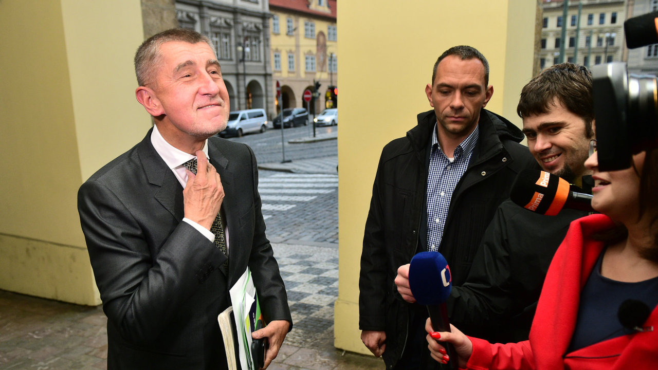 Šéf hnutí ANO Andrej Babiš.
