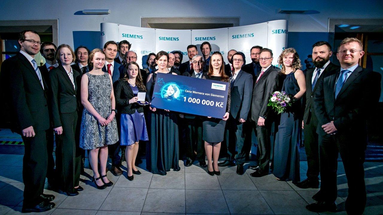 Vítězové dvacátého ročníku soutěže Ceny Wernera von Siemense.