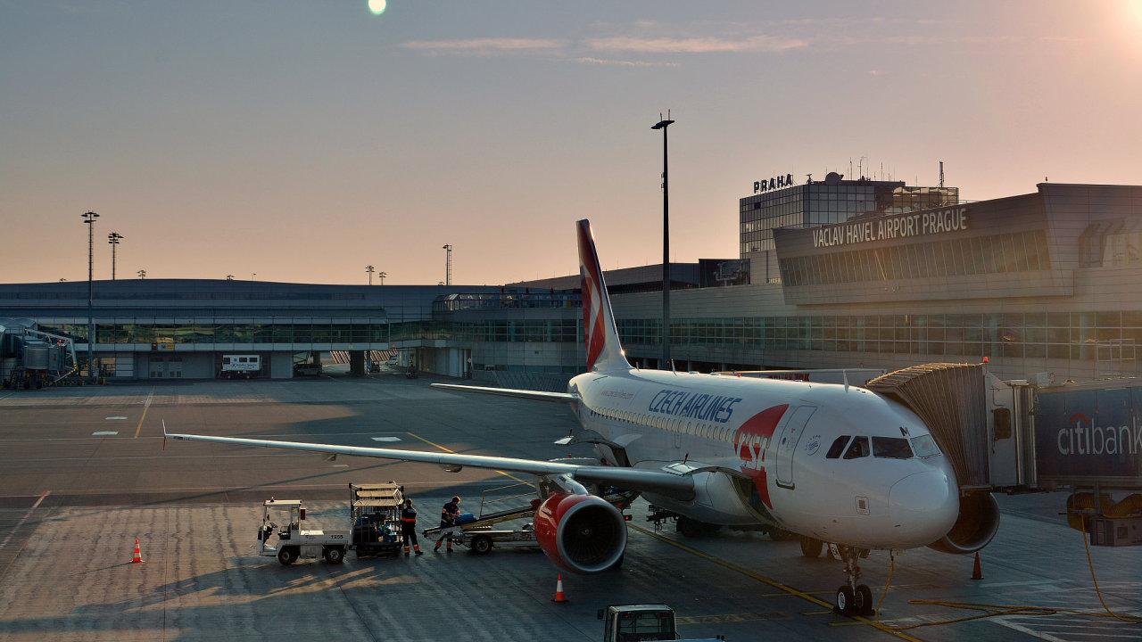 Hlavní součástí Českého Aeroholdingu je Letiště Václava Havla Praha.