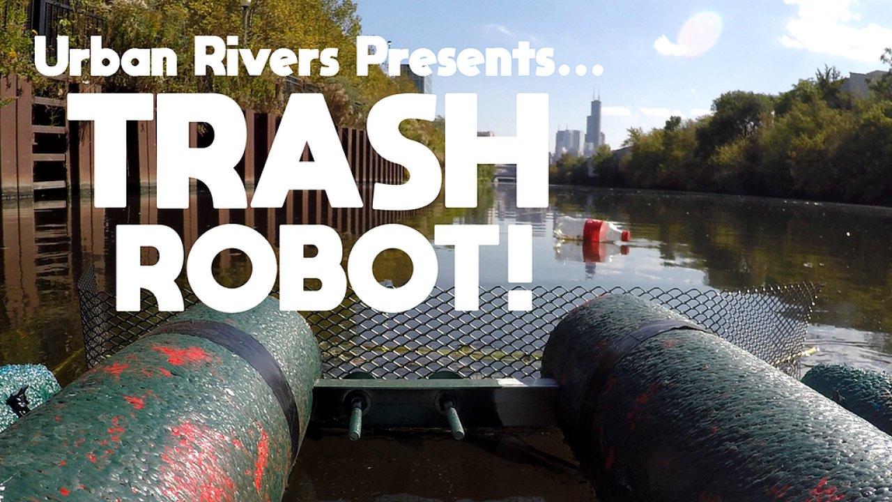 Americká neziskovka Urban Rivers vyvinula robota, který uklízí v řekách
