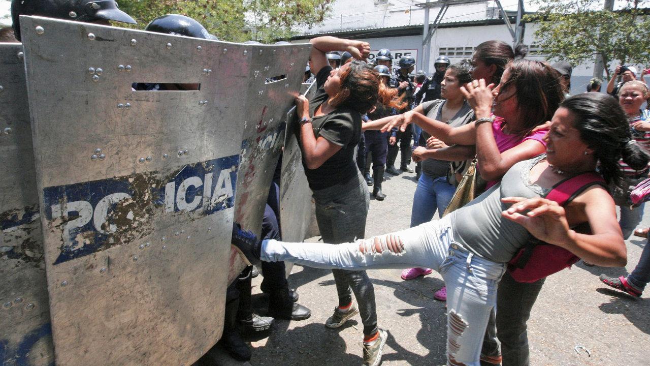 Venezuela, nepokoje