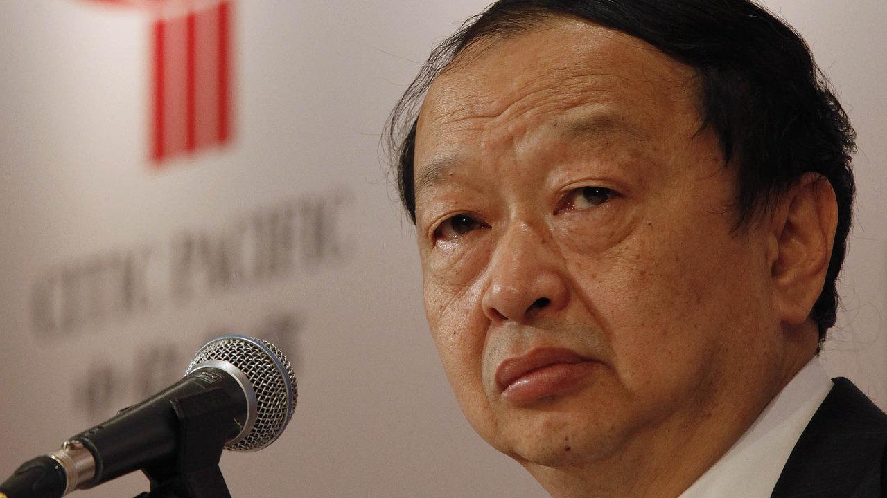 Byznysmen ahráč go: Čchang Čen-ming, šéf CITIC Group, je politicky prověřený azkušený čínský manažer. Navíc byl iúspěšným hráčem stolní hry go.