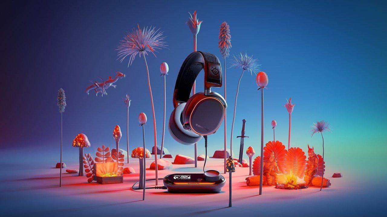Sluchátka SteelSeries Pro míří do světa audiofilského zvuku.
