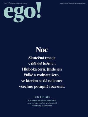 ego! 31. 8. 2018